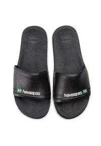 Havaianas - Klapki HAVAIANAS - Slide Brasil 41426160090 Preto/Black. Kolor: czarny