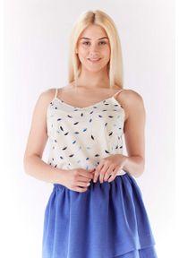 Niebieska bluzka Lou-Lou na ramiączkach