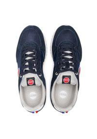 Colmar - Sneakersy COLMAR - Travis Colors 003 Navy/Lt Gray. Kolor: niebieski. Materiał: zamsz, skóra ekologiczna, materiał. Szerokość cholewki: normalna