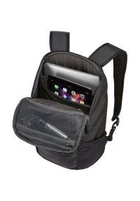Czarny plecak na laptopa THULE elegancki #5