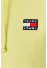 Bluza Tommy Jeans z długim rękawem, z kapturem, długa