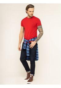 Czerwony t-shirt TOMMY HILFIGER