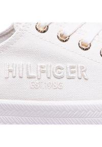 Białe trampki TOMMY HILFIGER