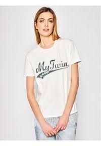 Biały t-shirt My Twin