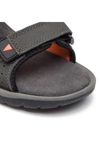 Szare sandały trekkingowe CMP na lato