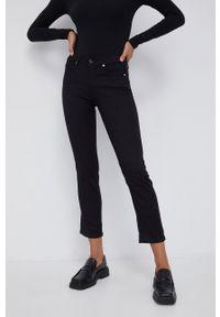 Calvin Klein - Jeansy. Kolor: czarny