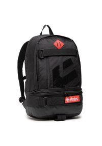 Etnies - Plecak ETNIES - Transport Backpack 4140001388/001 Black. Kolor: czarny. Materiał: materiał