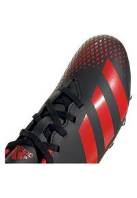 Adidas - Buty piłkarskie korki dla dzieci adidas Predator 20.4 FG EF1931. Materiał: neopren, syntetyk, materiał. Szerokość cholewki: normalna. Sezon: lato. Sport: piłka nożna