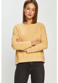 Żółta bluza Marc O'Polo z nadrukiem, polo