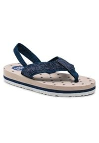 Gioseppo - Sandały GIOSEPPO - Ivrea 59321 Beige. Kolor: niebieski. Materiał: skóra, materiał. Wzór: aplikacja. Sezon: lato
