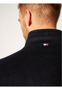 Niebieski płaszcz przejściowy Tommy Hilfiger Tailored