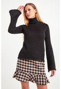 Sweter Trussardi Jeans do pracy, z golfem