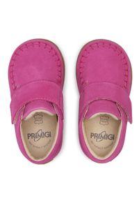 Primigi - Trzewiki PRIMIGI - 7410711 Fuxia. Kolor: różowy. Materiał: skóra, zamsz. Szerokość cholewki: normalna