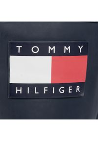 Niebieskie kalosze TOMMY HILFIGER z cholewką, klasyczne