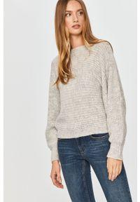 Szary sweter Answear Lab z długim rękawem, długi