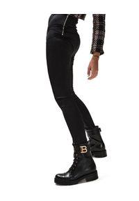 LOVE & ROSE - Modelujące legginsy Nevada. Stan: podwyższony. Kolor: czarny. Materiał: tkanina