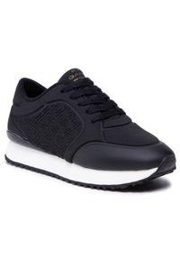 Sneakersy GANT - Bevinda 22539596 Black G00. Okazja: na co dzień. Kolor: czarny. Materiał: materiał. Szerokość cholewki: normalna. Sezon: lato. Styl: sportowy, casual