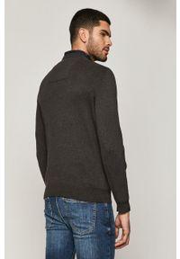 medicine - Medicine - Sweter Basic. Okazja: na co dzień. Kolor: szary. Długość rękawa: długi rękaw. Długość: długie. Styl: casual