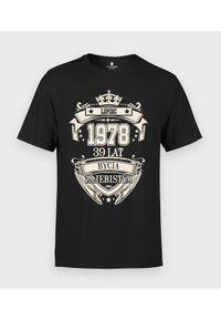 MegaKoszulki - Koszulka męska Urodziny 3 + Twój miesiąc, rok, wiek. Okazja: na urodziny. Materiał: bawełna