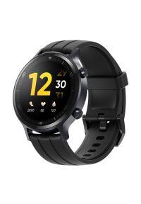 Czarny zegarek REALME smartwatch, casualowy