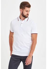 Koszulka polo Armani Exchange sportowa, w jednolite wzory, polo