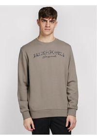 Jack & Jones - Jack&Jones Bluza Jorministry 12180410 Brązowy Regular Fit. Kolor: brązowy