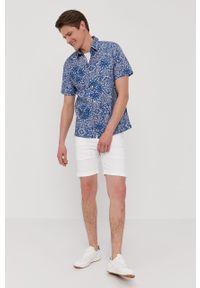 Białe szorty Pepe Jeans casualowe, gładkie, na co dzień