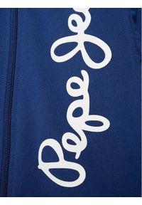 Pepe Jeans Bluza Scott PB581341 Granatowy Regular Fit. Kolor: niebieski