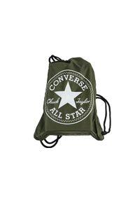 Zielona torba sportowa Converse w kolorowe wzory
