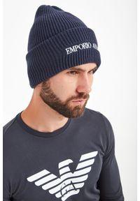 Nakrycie głowy Emporio Armani na zimę, sportowe