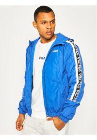 Niebieska kurtka przejściowa Fila