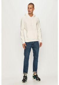 Biała bluza nierozpinana Brave Soul z kapturem