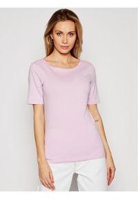 Różowy t-shirt Marc O'Polo polo