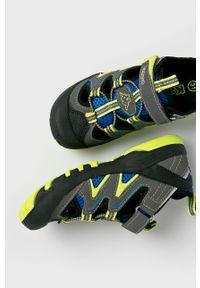 Kappa - Sandały dziecięce Reminder. Nosek buta: okrągły. Zapięcie: rzepy. Kolor: szary. Materiał: syntetyk, guma, materiał #5