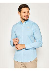 Niebieska koszula casual La Martina