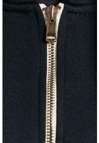 Niebieska bluza rozpinana Cross Jeans gładkie, casualowa, na co dzień