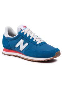 New Balance - Sneakersy NEW BALANCE - UL720NY1 Niebieski. Okazja: na co dzień. Kolor: niebieski. Materiał: skóra, materiał, zamsz. Szerokość cholewki: normalna. Sezon: lato. Styl: sportowy, casual