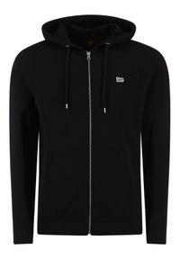 Lee Bluza Basic Zip Throuh Hoo L80KSP01 Czarny Regular Fit. Kolor: czarny