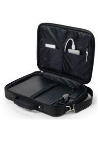 Czarna torba na laptopa DICOTA w kolorowe wzory