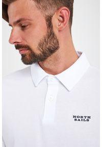 North Sails - POLO NORTH SAILS. Typ kołnierza: polo. Materiał: bawełna. Wzór: napisy