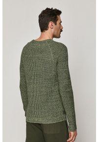 medicine - Medicine - Sweter Comfort Up. Okazja: na co dzień. Kolor: zielony. Materiał: dzianina. Długość rękawa: długi rękaw. Długość: długie. Wzór: melanż. Styl: casual