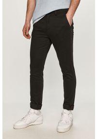 Czarne spodnie Jack & Jones gładkie