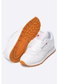Reebok Classic - Buty Classic. Kolor: biały. Materiał: guma. Szerokość cholewki: normalna. Model: Reebok Classic