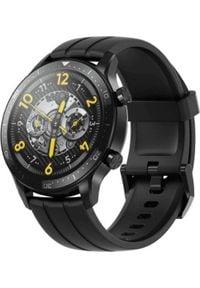 REALME - Smartwatch realme watch S Pro Czarny (WatchSPro). Rodzaj zegarka: smartwatch. Kolor: czarny