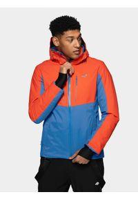 Pomarańczowa kurtka narciarska 4f Dermizax, na zimę