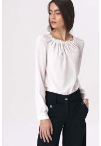Różowa bluzka z długim rękawem Nife