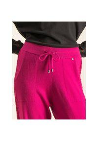 Różowe spodnie TwinSet