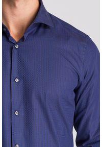 Niebieska koszula Joop! Collection biznesowa, na lato, na co dzień
