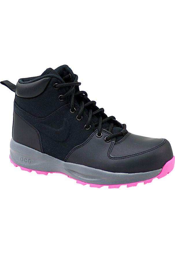 Buty trekkingowe Nike w kolorowe wzory, z cholewką