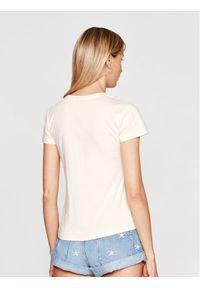 Beżowy t-shirt
